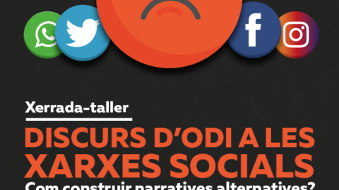 Com construir narratives alternatives al discurs d'odi a les xarxes socials