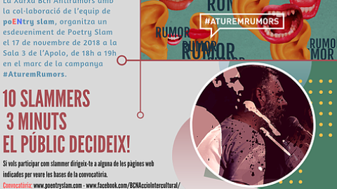 Poentry slam – Aturem Rumors